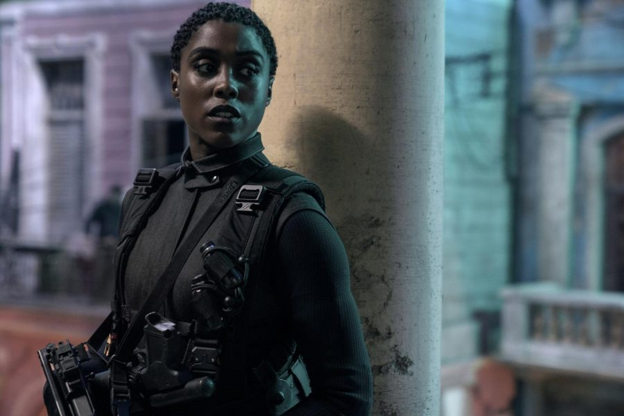 Nomi (Lashana Lynch) is ready for action in Cuba in NO TIME TO DIE, an EON Productions and Metro-Goldwyn-Mayer Studios film Credit: Nicola Dove © 2021 DANJAQ, LLC AND MGM. ALL RIGHTS RESERVED.