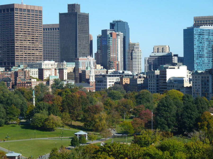 Boston Common, Boston by Massachusetts Office of Travel & Tourism is licensed under CC BY-ND 2.0